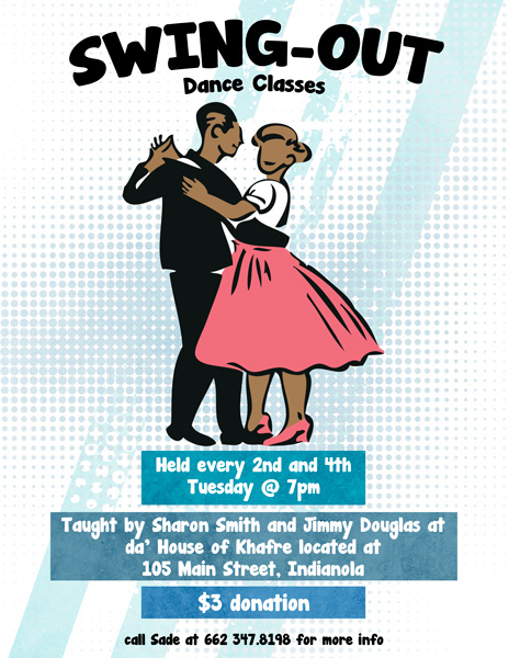 Swing Out Dance Class